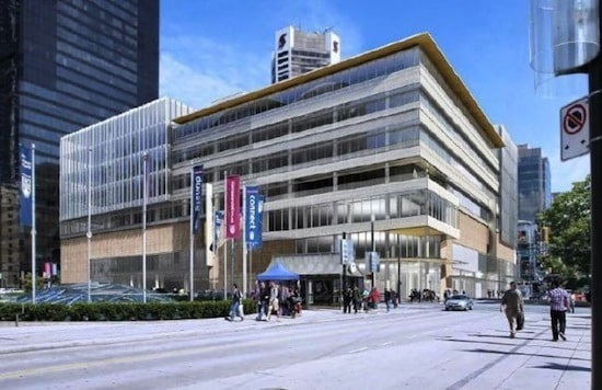 Plans for Nordstrom Vancouver