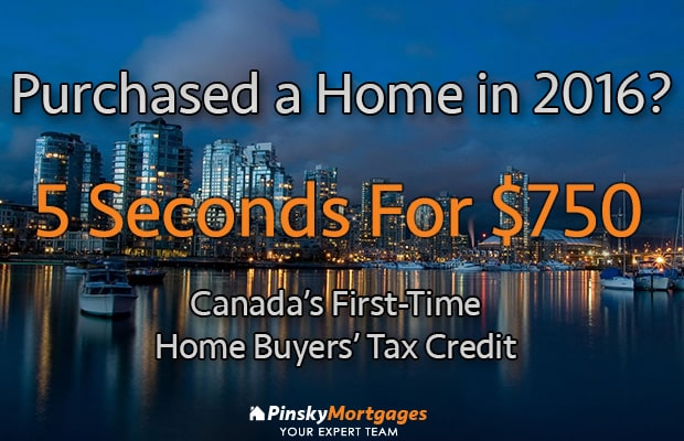 750 First Time Home Buyers 39 Tax Credit