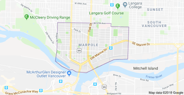 Marpole Vancouver Boundaries