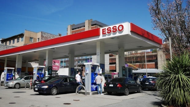 Last Remained ESSO In Vancouver Downtown