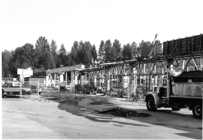 Lougheed mall expansion in 1985 (City of Burnaby)