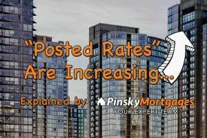 Posted Rates are increasing!
